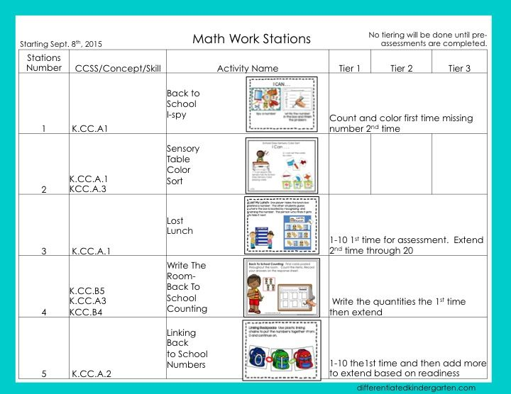 Best Kindergarten Lesson Planning Images On