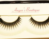 Eyelashes always makes your eyes pop and get noticed. Check out www.etsy.com/shop/AngeesBoutique for all your beauty needs from eyelashes, jewelry, hair pieces and extensions. We even have real mink fur eyelashes at great prices! #AngeesBoutique #jewelry #eyelashes #minkeyelashes #beauty #fashion #hairextensions #weave