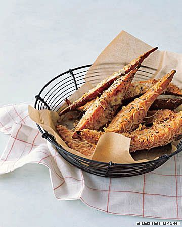 Parmesan coated Sweet Potato Fries (plus lots of other sweet potato recipes from MS)