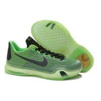 Nike Zoom Kobe X (10) EM XDR Kids basketball shoes green black