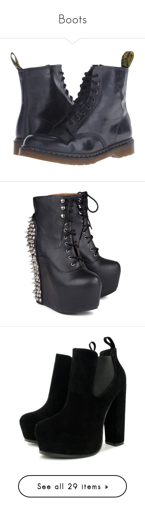 """""""Boots"""" by selinalindroth ❤ liked on Polyvore featuring men's fashion, men's shoes, men's boots, black, mens boots, mens leopard print shoes, dr martens mens boots, mens black boots, mens shoes and shoes"""