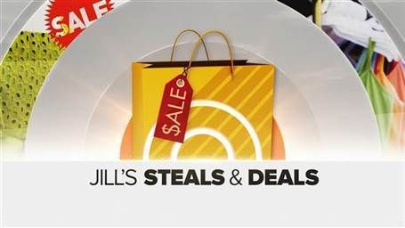 Where are Jill's Steals and Deals from The Today Show? The schedule keeps changing but we share them whenever The Today Show has them.
