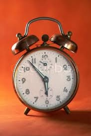 retro alarm clock used to have one in England