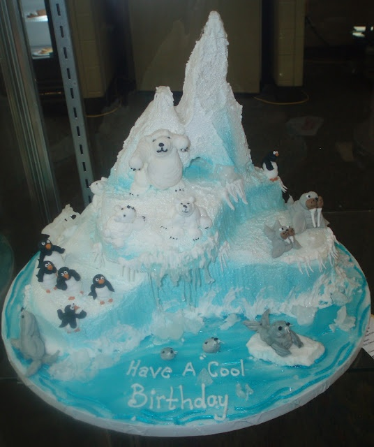Igloo Birthday Cake