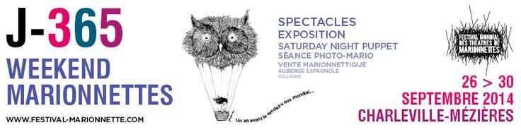 Festival Mondial des Théâtres de Marionnettes - Charleville France