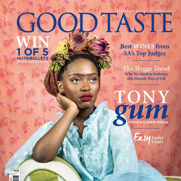 Our latest April 2017 issue of Good Taste has just hit the shelves. Each copy comes with a free ticket to the Decorex Cape Town worth R95 and a gift card from Flowermill Stationery Company worth R35! Available in select Melissa's, Exclusive Books, CNA, Pick n Pay, Spar, Caltex South Africa, Total, and Engen garages