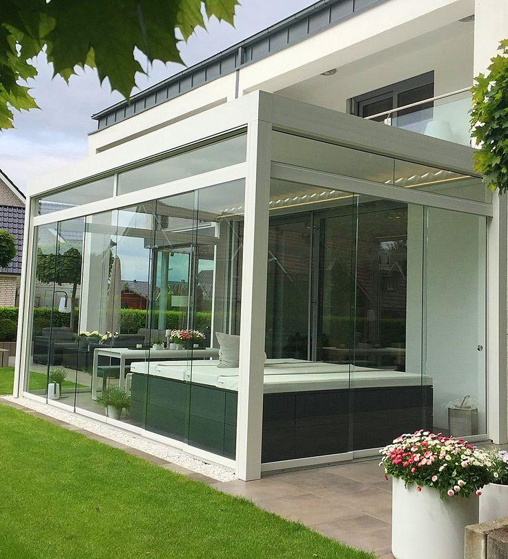 Die besten 25+ Sonnenschutz terrassenüberdachung Ideen auf - mediterrane terrassenberdachung
