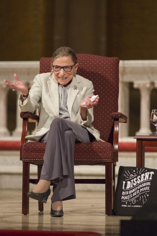 Ruth Bader Ginsburg at Memorial Church