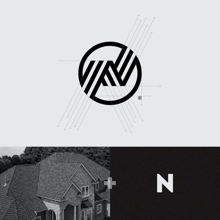 "403 Likes, 6 Comments - Marcin Usarek / Logo Designer (@marcin_usarek) on Instagram: ""NANETTE / real estate group Inspirations: roof + letter N…"""