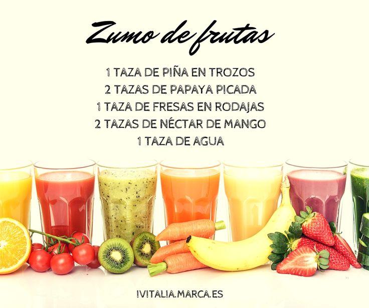 86 best images about adelgazar alimentaci n saludable on - Batidos de frutas ...