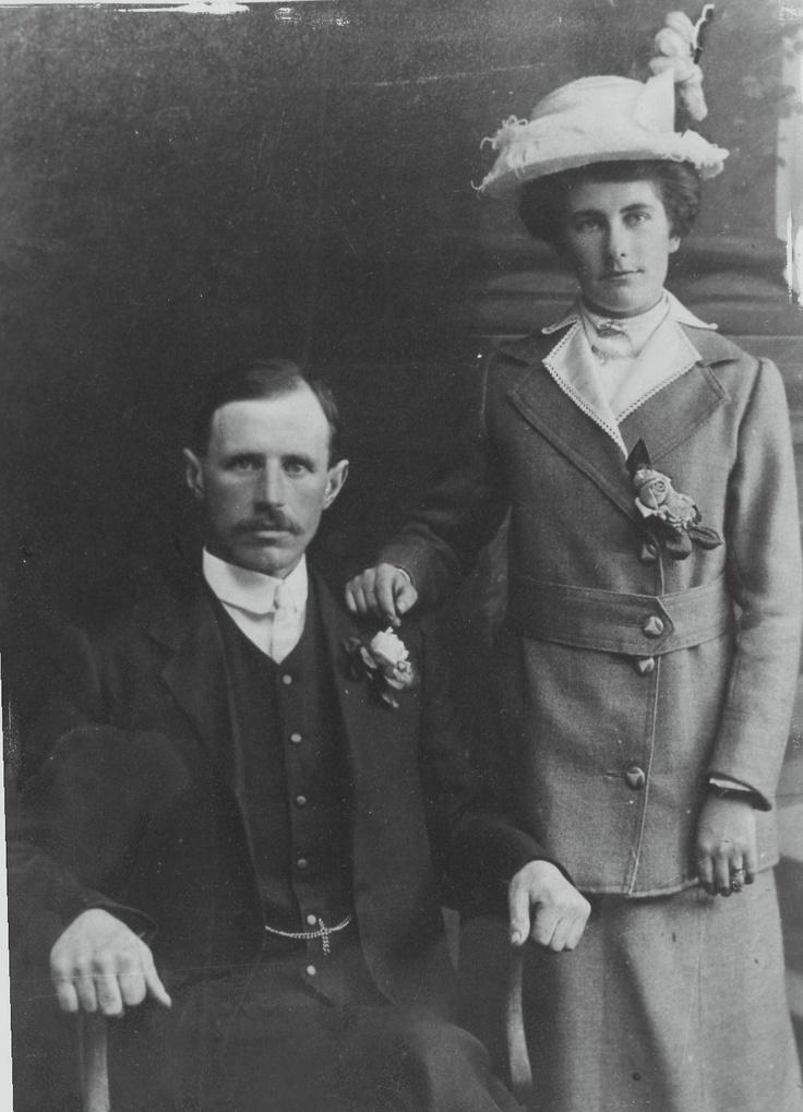 Wedding 1915 in Rathdrum, Co. Wicklow