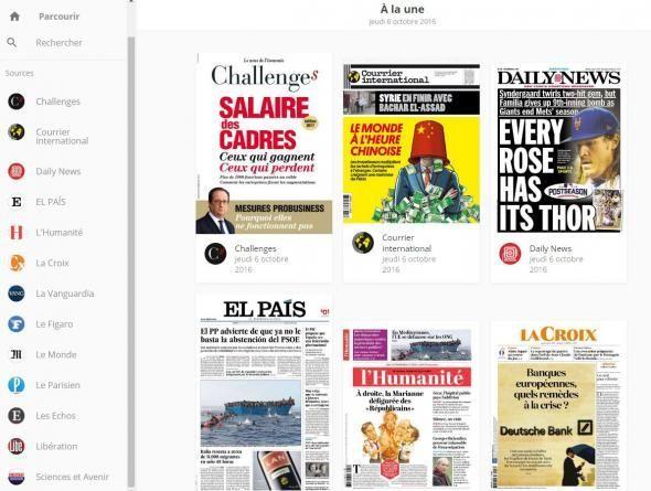 Grâce à la plateforme LireLactu, 14 journaux, français et internationaux, sont disponibles en ligne gratuitement dans tous les collèges et lycées de France. Si vous ne venez pas à la presse, la presse viendra à vous !