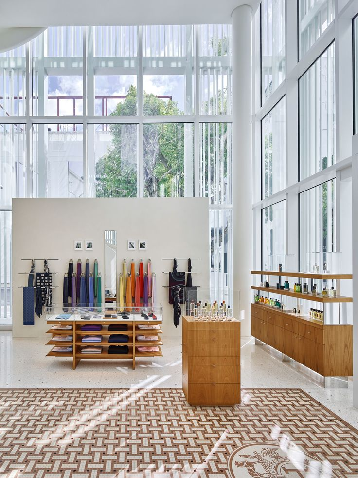 Herms Opens A Striking New Shop In Miamis Design District