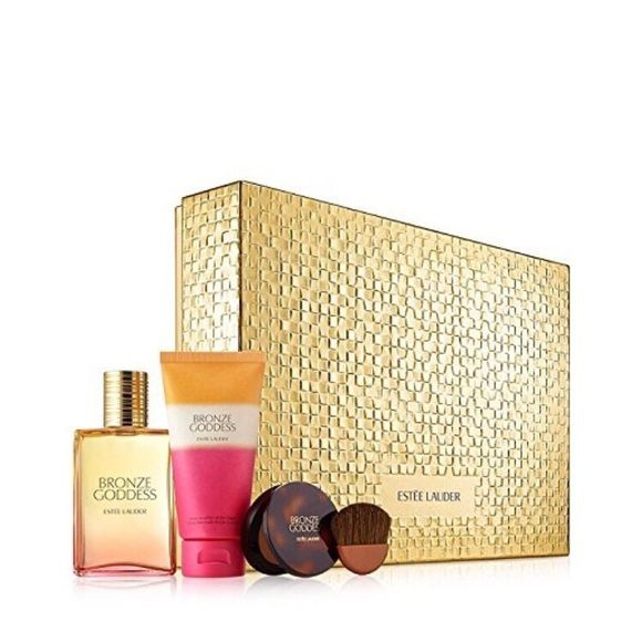 Estée Lauder Bronze Goddess set New in box never sprayed.Perfume is full size.Lotion and bronzer included. Estee Lauder Makeup Bronzer