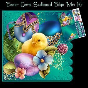 Easter Gems Mini Csipkés szélű készletet