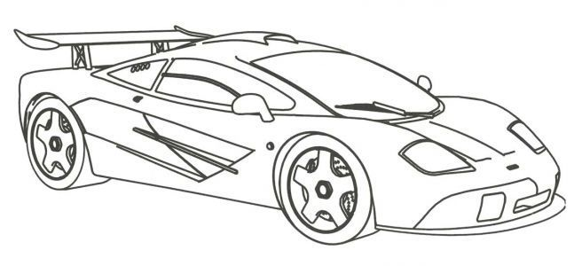 ausmalbilder sportwagen  race car coloring pages cars