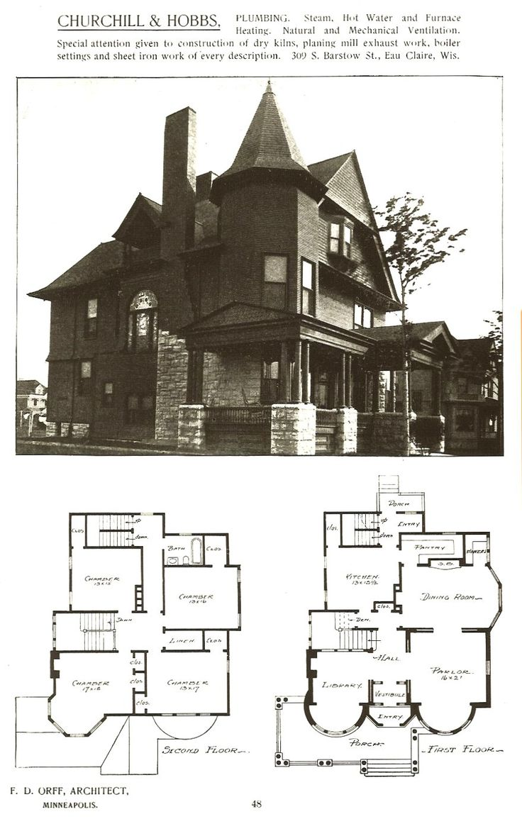 444 best Floor Plans images on Pinterest | Floor plans, Vintage ...