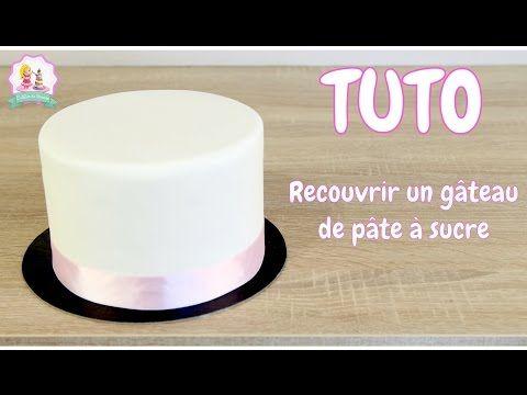 ♡• COMMENT RECOUVRIR PARFAITEMENT UN GÂTEAU DE PATE À SUCRE ? - TUTO CAKE DESIGN •♡ - YouTube