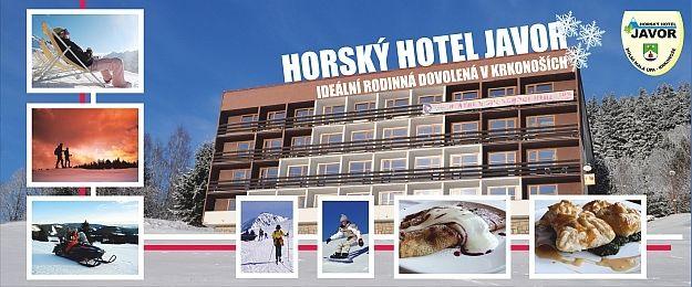**Horský Hotel Javor se skvělou reputací BABY FRIENDLY hotelu. Bonusem hotelu je vyhlášený BABYSITTING a ANIMAČNÍ PROGRAM