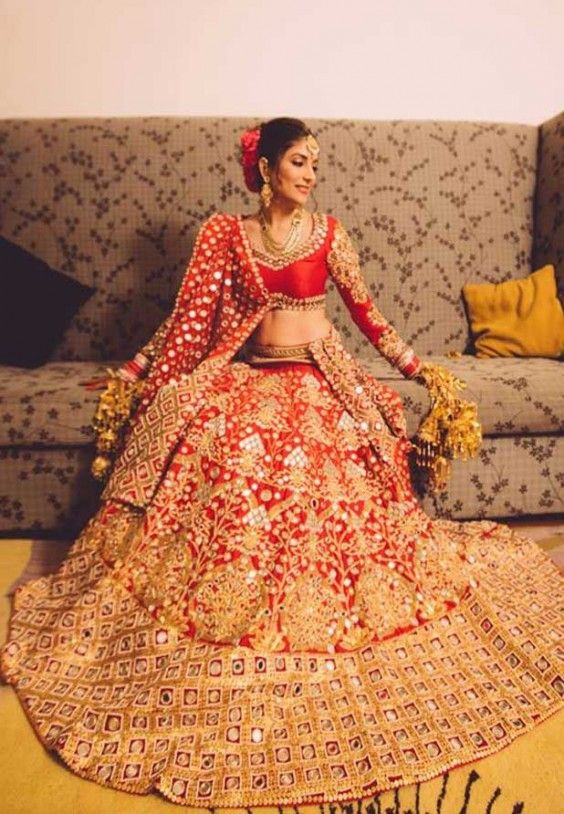 Mirror Work Sarees and Lehengas from PapaDontPreach | MinMit