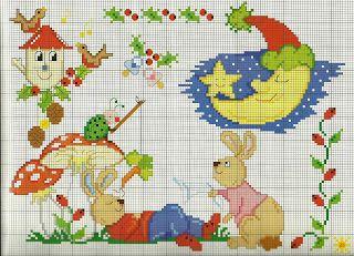 Victoria - Handmade Creations : Σχέδια για κεντήματα με παιδικά θέματα