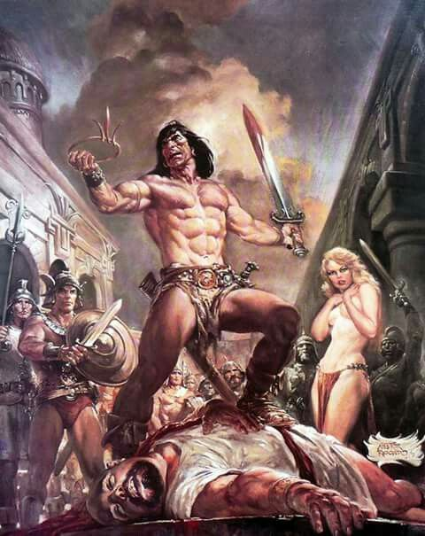 Really pleases conan the barbarian with women