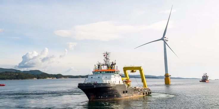 The wind farm is expected to generate enough power for 20,000 households at full capacity according to Statoil.