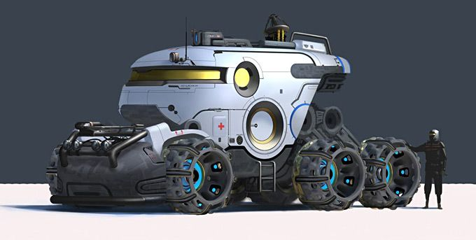 Annis Naeem Concept Art. We DEFINITELY need a model of this.