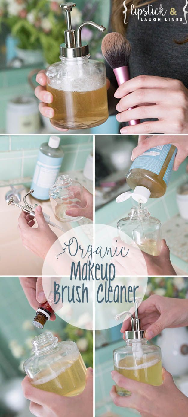 Cool Tips for Your Makeup Brushes - Homemade Organic Makeup Brush Cleaner- Awesome Guides on How To Use Makeup Brushes - Easy Tips and Tutorials for Cleanses, Eye Shadows, Nail Art, Foundation, Mac Eyeshadow, Urban Decay Products and Ideas for All different Types of Faces - thegoddess.com/tutorials-for-makeup-brushes
