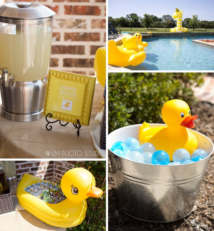 Plano Birthday Photographer, One Year Party, Rubber Ducky Party, One Year Pool Party, KM Photo Studio