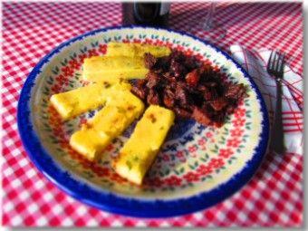 Brüscit con polenta