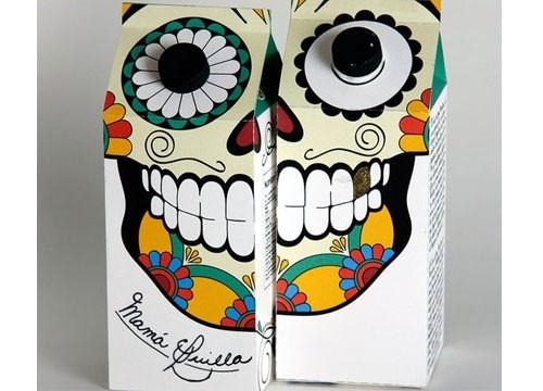 Amazing milk carton design.