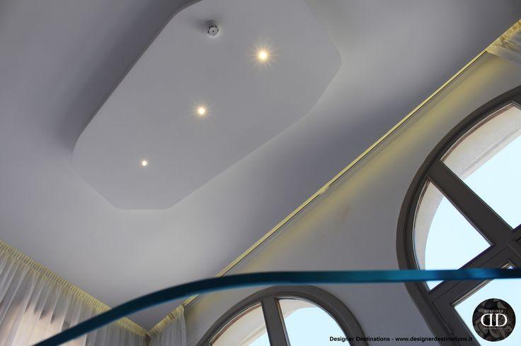 Restyling La Canonica Office :  plasterboard shaped