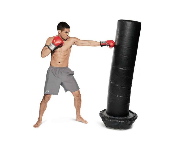 Ramp up your cardio with this full body heavy bag workout.