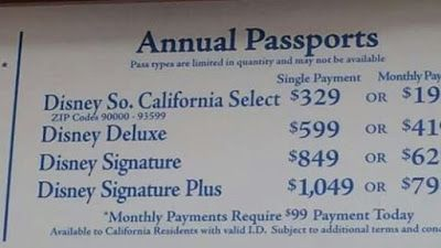 """""""E"""" Ticket To Tomorrowland: DISNEYLAND ANNUAL PASSPORT PRICE CHANGES TRUTH? OR..."""