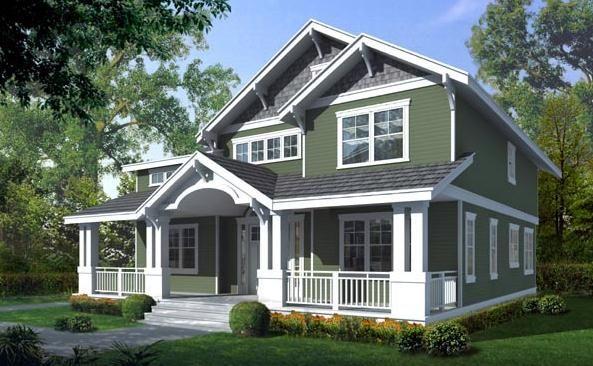 Craftsman Style Home Interiors | craftsman house plan Craftsman House Plans American Style