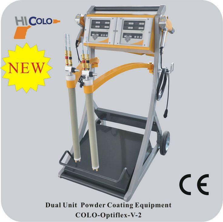 Vibrador manual coating systems colo opti, Powder coating Set - COLO powder coating machine