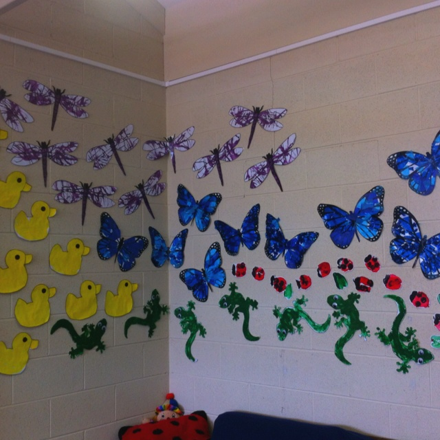 32 best images about classroom theme on pinterest summer for Classroom wall mural ideas