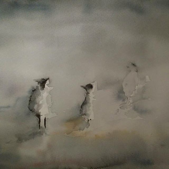 Får - Sheep #akvarell #painting #watercolor #art #watercolour #får #sheep #painting
