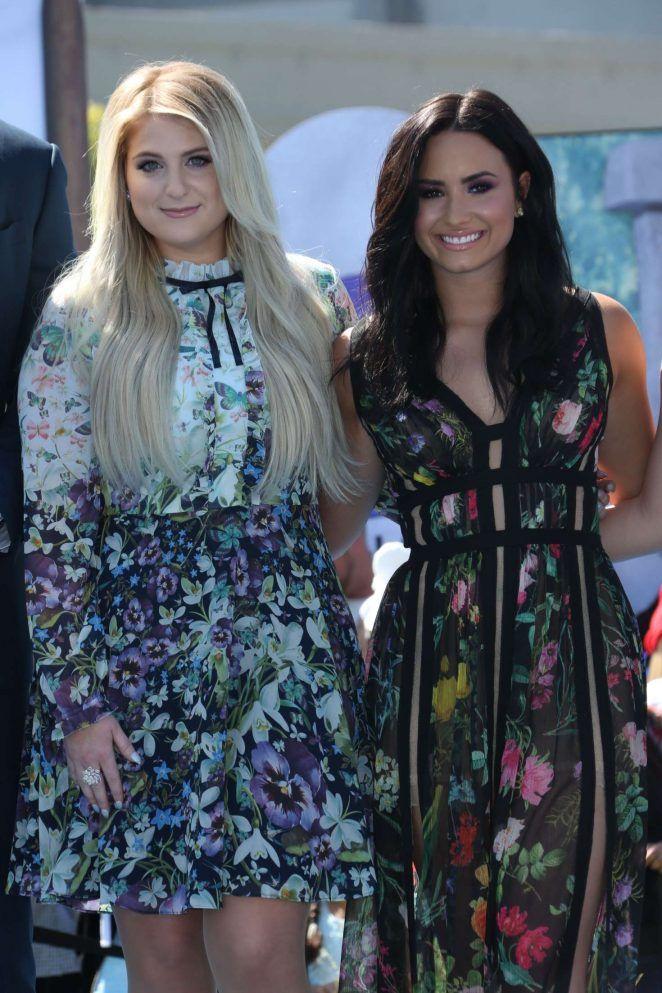 Demi Lovato and Meghan Trainor