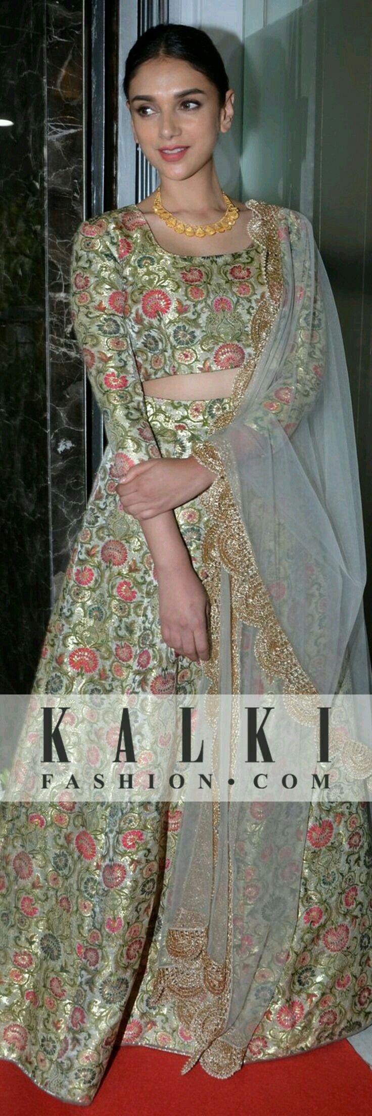 Indian outfit. Aditi rao haidri Pinterest: @reetk516
