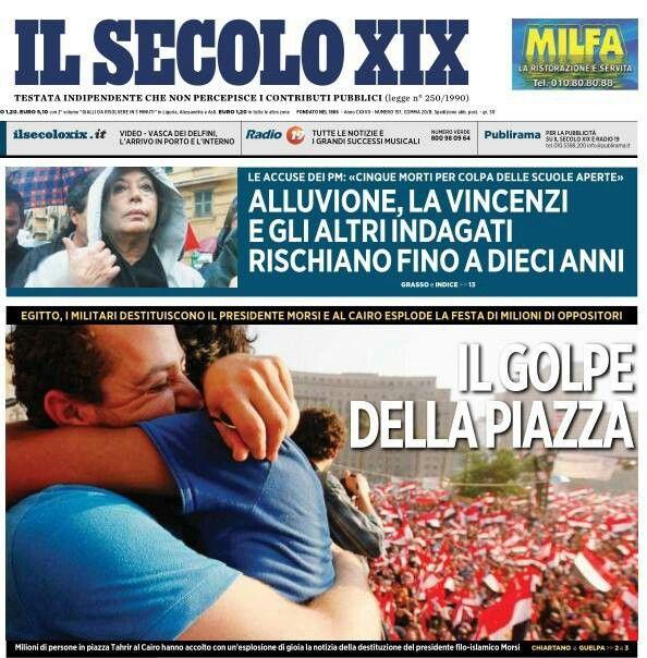 Il golpe della piazza- reportage