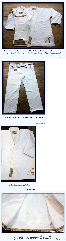 Uniforms and Gis 179774: Ground Control Bjj Brazilian Jiu Jitsu Gi Kimono A2 - Vintage Koral Atama Style -> BUY IT NOW ONLY: $89 on eBay!