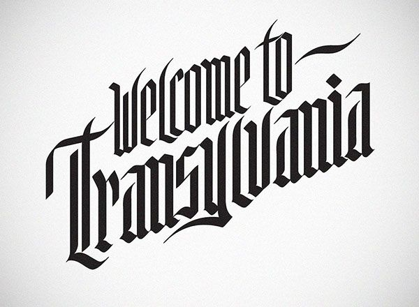 Welcome to Transylvania on Behance