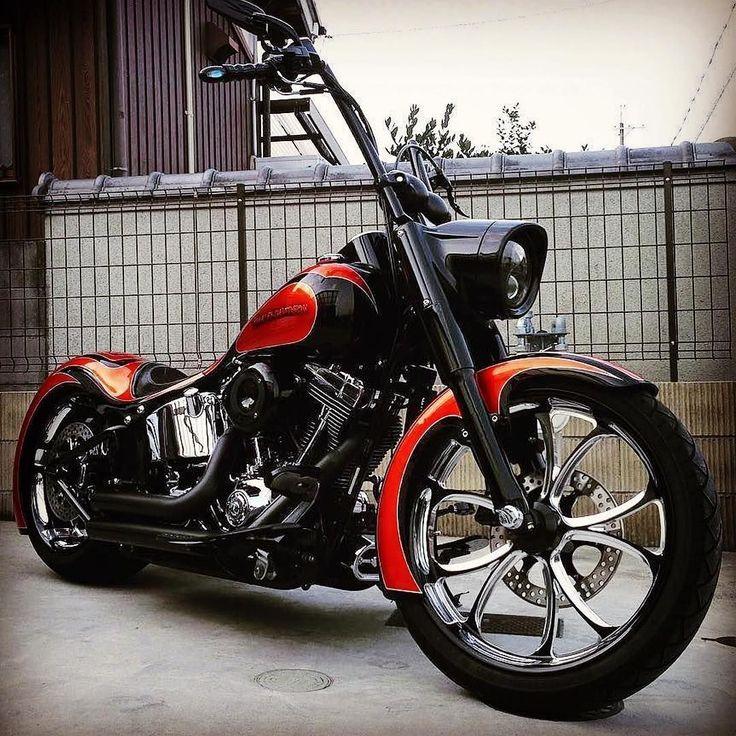 """3,405 curtidas, 9 comentários - Harley-Davidson Softail (@softailgram) no Instagram: """"Thanks for sharing: [ @mitsuji666 ] ••••••••••••••••••••••••••••••••••••••••••••••• Follow…"""" #harleydavidsonsoftail #harleydavidsontrikecustombobber"""