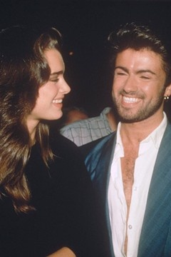 Brooke Shields and George Michael at Studio 54