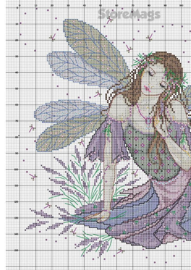 Lavender Fairy_JE.083_3/4