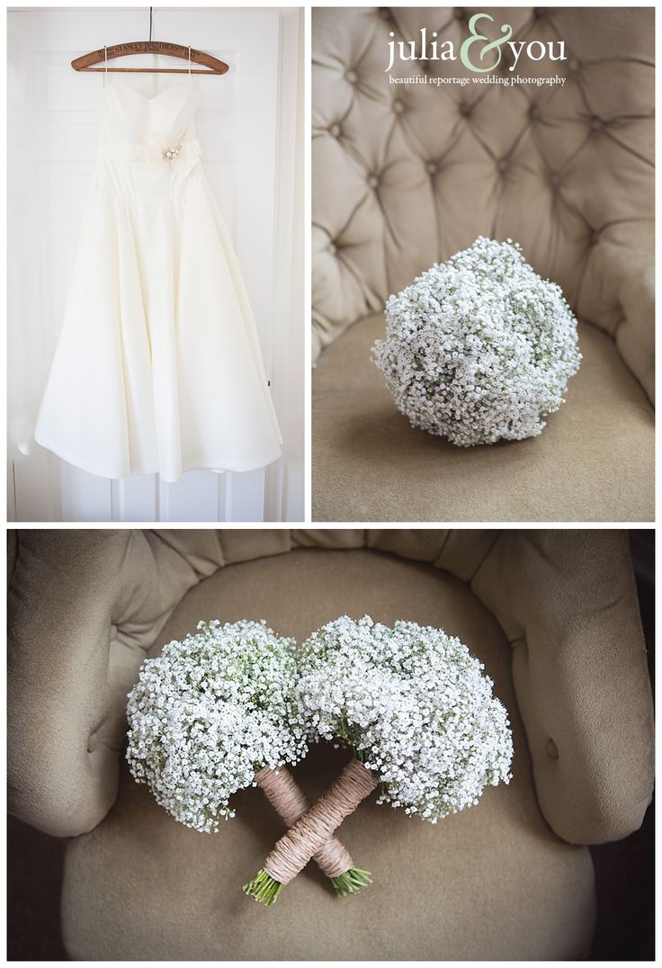 Gypsophila Babys breath bouquets moss green wedding details Tewin Bury Farm wedding photography hertfordshire | Julia and You