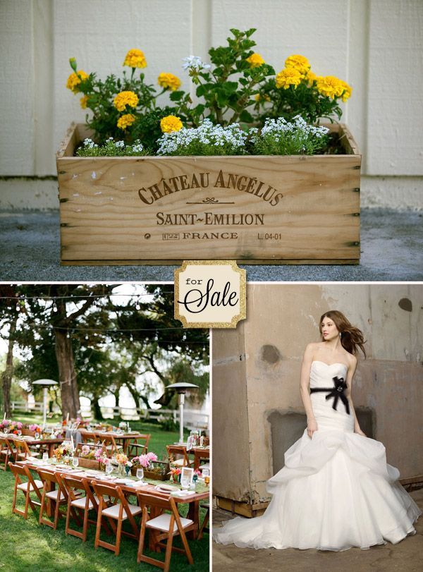 Yellow And Grey Is The Color Scheme For The Vermont Wedding On The  Countryside. Using · Wedding Decorations For SaleRustic ...