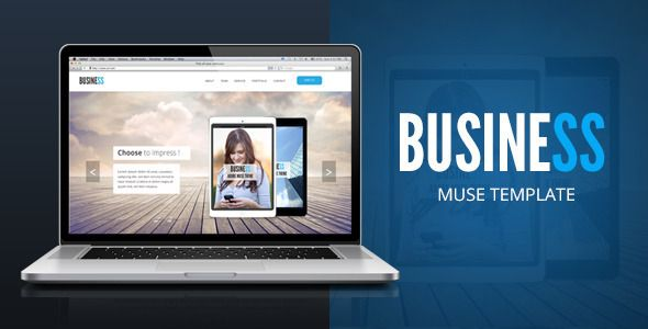 Business - Corporate Multipurpose Template . Business is a professional Multi-Purpose one page fully customizable adobe muse template. This Template was fully build with Adobe Muse tools and standard widgets.Use this template for any business or portfolio